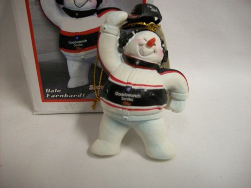Dale Earnhardt Christmas Ornament - Dale Earnhardt Sr. #3 Nascar Snowman Christmas Ornament