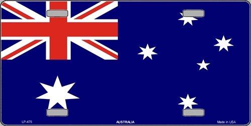 Australia Flag License Plate Prideplates