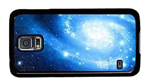 Hipster Samsung S5 awesome case blue galaxy PC Black for Samsung S5