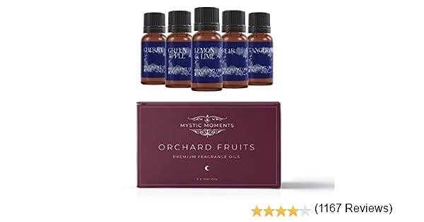 Mystic Moments Aceite Perfumado Pack Básico - Frutas De Huerto - 5 x 10ml - 100% Puro: Amazon.es: Hogar