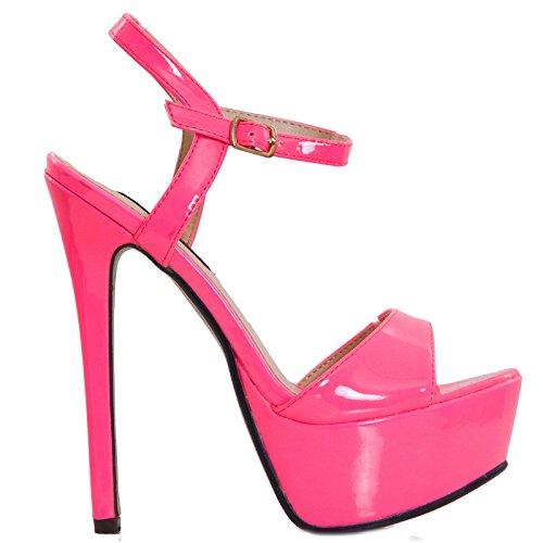 Toocool Brides Chaussures Rose À Femme U7RrUFq