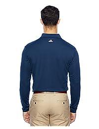 adidas Golf A186 Climalite - Polo de manga larga para hombre