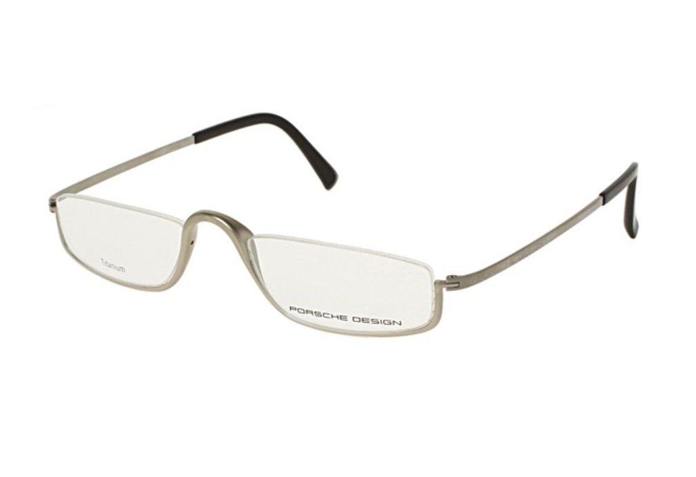 Porsche Design Eyeglasses P8002 B Light Titanium Matte Color, Titanium Frame - Men's 50 20 150