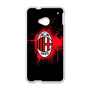 HTC One M7 Cell Phone Case White AC Milan Football IED Mophie Cell Phone Case