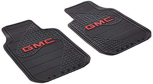 Plasticolor 001457R01 GMC Factory Floor Trim-to-Fit Left and Right Universal Floor Mat - Set of 2