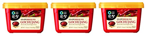 Chung Jung One Sunchang Hot Pepper RNmgUy Paste Gold (Gochujang) 3Pack (500g) (Hot Pepper 500)