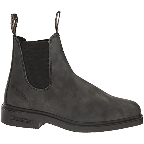 Blundstone Dress Series Chelsea Boot, Rustic Black, 8.5 M US Men's /10.5 M US Women's -7.5 AU (Dresses For Women With Boots)