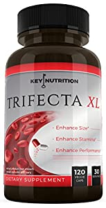 Trifecta XL - Gain up to 2+ inches, Up to 3x longer - Size & Testosterone Booster for Men. More Stamina, Energy and Endurance - 1 Month Supply