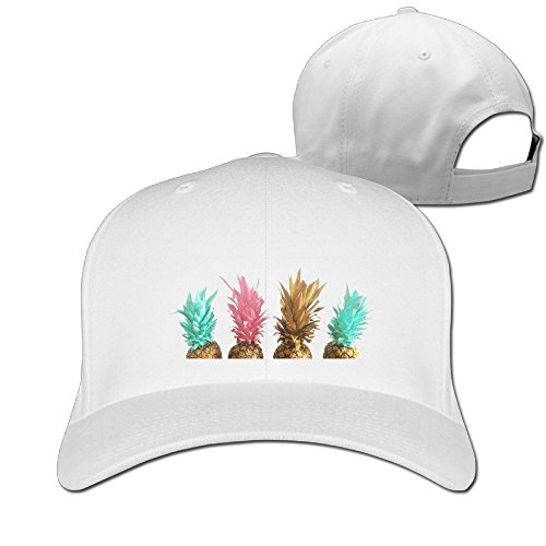 Four Pineapple Unisex Wonderful Cyber Monday Unicode Solid Peaked Hat Baseball Sport Student Cap