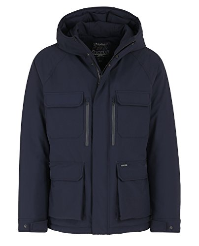 Stretch Woolrich Fall Blue 3126 winter Mountain St02 Jacket Navy Wocps2579 rEWxwqEH8g