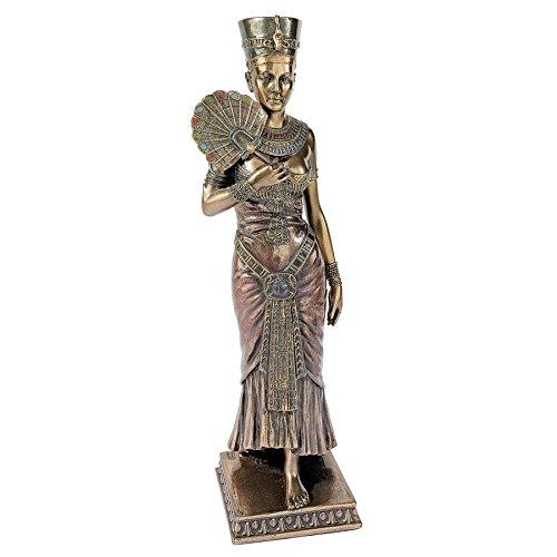 Queen Nefertiti Statue - Design Toscano The Beautiful Egyptian Queen Nefertiti Statue