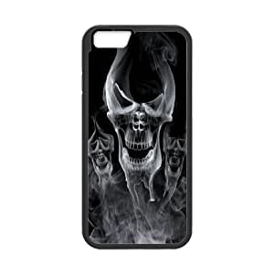 High quality skull & skeleton series protective cover For Apple Iphone 6 Plus 5.5 inch screen Cases skull-ull-o53536