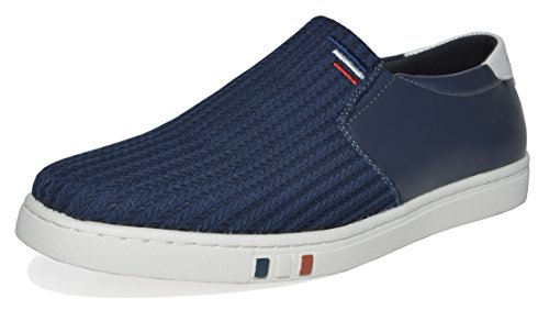 Bruno Marc Men's NY-02 Navy Penny Loafers Fashion Sneakers Size 14 M US