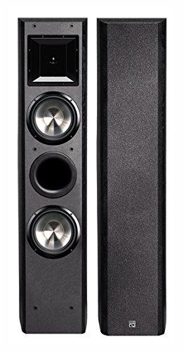 "BIC America Formula 6.5"" 2-Way Floorstanding Speaker (Each) Black FH-6T"