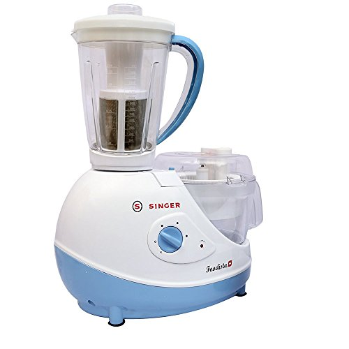 Singer Foodista Plus 600 Watts Food Processor with Citrus Juicer