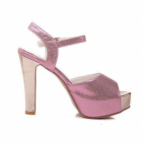 Alto Punta Carol Sandali Toe Per Peep Tacco Le Donne A Shoes Moderni x6SqB