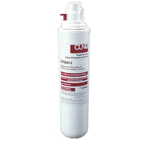 3M Water Filtration Products CFS8576-S Water Filter For Ice Machines with up to 600 lb. Production (No Gauge) by 3M Water Filtration Products
