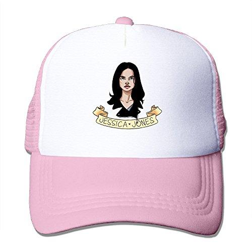 [ACMIRAN Jessica Jones Funny Hiphop Cap One Size Pink] (Jessica Jones Marvel Costume)