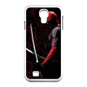Special Lovely Nostalgic Deadpool Samsung Galaxy S4 9500 Cell Phone Case White Benefit Cool LHWANGN018550