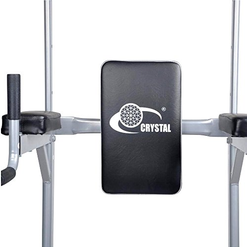 Ainfox Power Tower Strength Training Fitness Equipment Standing Pull Up Bar  Gym Office