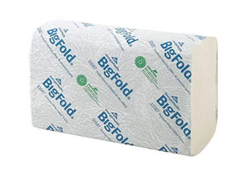 Bigfold Pacific Blue Ultra Premium Recycled Paper Towels (previously branded Big Fold Z) by GP PRO (Georgia-Pacific), White, 33587, 220 Paper Towels Per Pack, 10.2