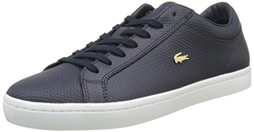 Lacoste Damen Straightset 316 3 Trainer Low Blau (nvy)