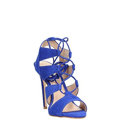SANDALIA Blue STEVE MADDEN Nabuk BLACK Y4Y5xT