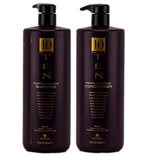 Alterna The Science of Ten Perfect Blend Shampoo & Conditioner DUO (31 Oz (Alterna White Truffle)
