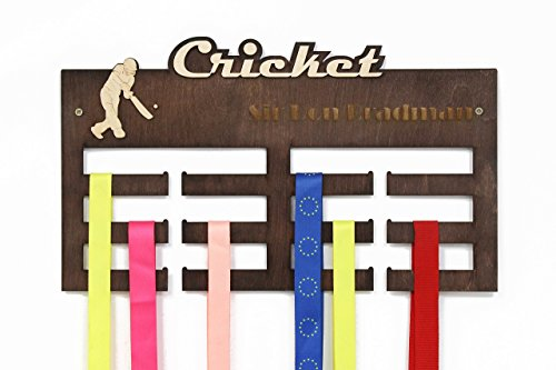 All sports Medal Display, Cricket, Cricket Gifts, Medal Hanger, Medal Rack, Medal Holder, Personalized Medal Rack, Custom Medal Holder, Cricket Lover