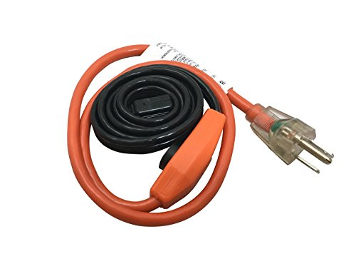 Frost King HC24A Automatic Electric Heat Cable Kits, 24Ft x 120V x 7 Watts/Ft, Black - Electrical Cables - Amazon.com