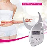 Body Fat Caliper Tester Scales Fitness Monitors Analyzer Digital Skinfold Slimming Measuring Instruments Electronic Fat Measure