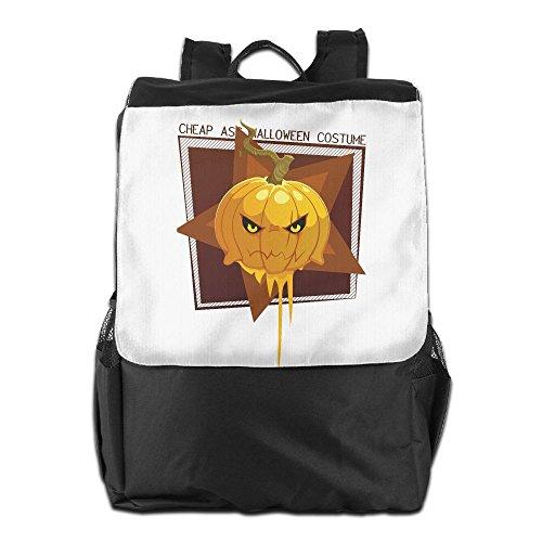 Personality Outdoor Men And Women Travel Backpack Cheap Ass Halloween Costume Pumpkin Painting The Picture On The (Body Painting Men Halloween)