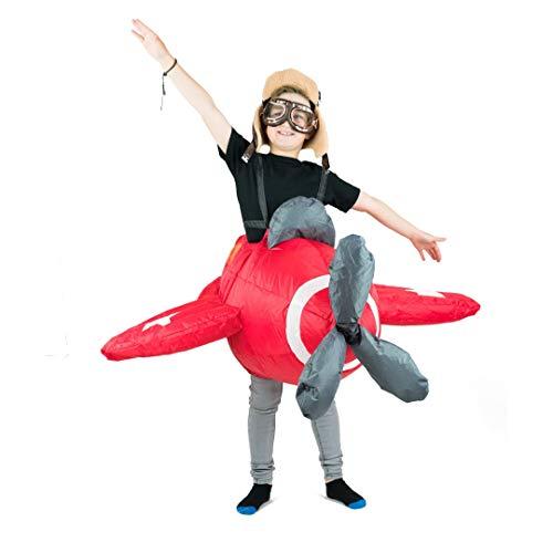 Bodysocks Kids Inflatable Plane Fancy Dress Costume ()