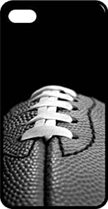Football First & Ten 50 Yard Line Black Rubber Case for Apple iPhone 4 or iPhone 4s