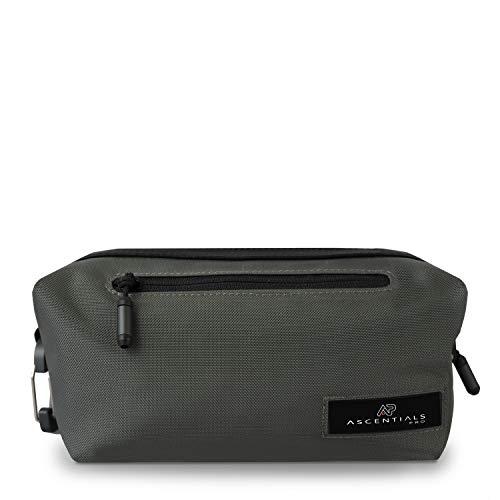 Ascentials Pro Flint, Water Resistant, Durable Nylon Travel Accessories Dopp Kit for Men Loden