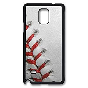 samsung note 4 Case and Cover Baseball PC case Cover for samsung note 4 Black