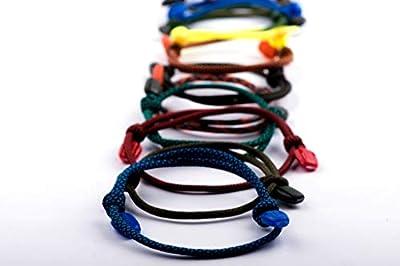 RIMAD Stylish Nautical Rope Paracord Nylon Unisex Bracelet 20 ?OLORS!