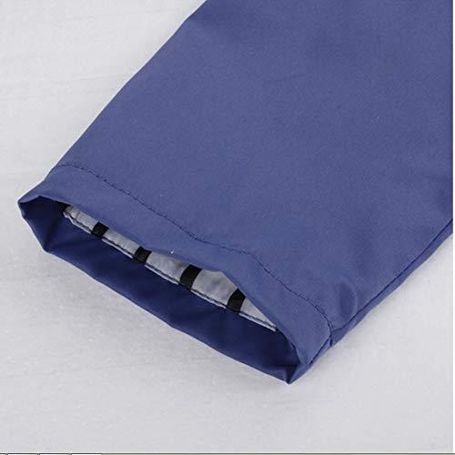 Hpklsder Manteau Vestes Hiver Bleu Pluie Imperméable Plein Randonnée Marine Outwear En Zipper De Femmes Windproofer Dames Rain Automne Jacker Air Xl Casual 4IrqwzxF4