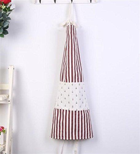Goodscene Creative Apron Fashion Navy Style Striped Apron-Red Stripe Apron by Goodscene