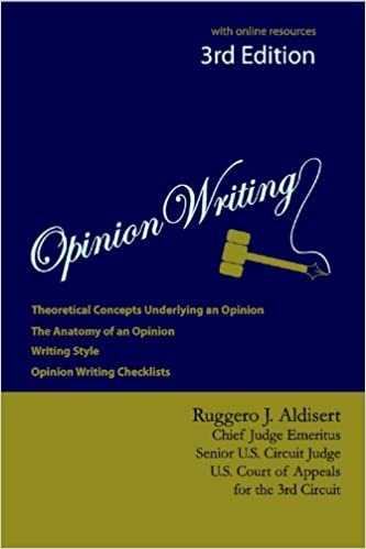 Opinion Writing 3rd Edition