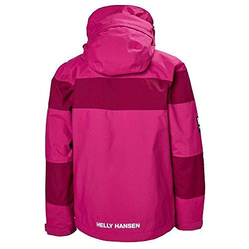 Helly Hansen Junior Salt Port Jacket, Very Berry, Size 10 by Helly Hansen (Image #1)