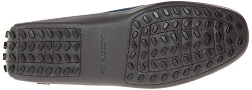 Men's 10 Driving Brown Loafer Concours Lacoste dBwqY76xd