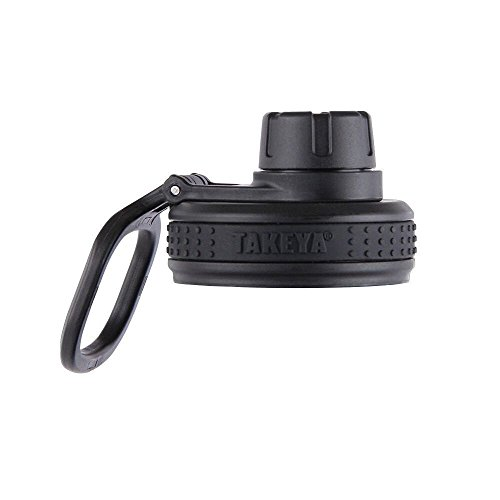 Takeya Originals Bottle Spout Lid, Black ()