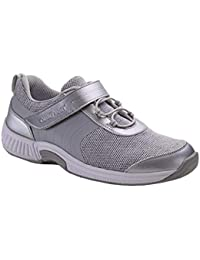 Joelle Comfortable Orthopedic Diabetic Flat Feet Womens Walking Shoes