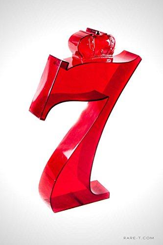 ORIGINAL VINTAGE ACRYLIC 'SEAGRAM'S 7 CROWN WHISKEY' BAR-BACK DISPLAY/ADVERTISEMENT