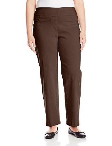 Ruby Rd. Womens Plus-Size Pull-On Solar Millennium Pant