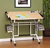 Studio Designs Pro Craft Station in White with Maple 13245