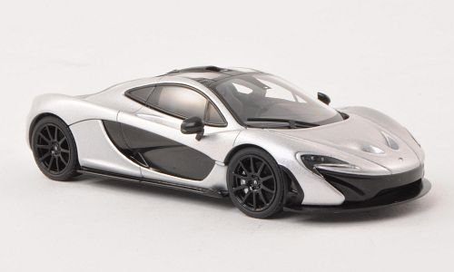 McLaren P1, silber, 2011, Modellauto, Fertigmodell, AUTOart 1:43