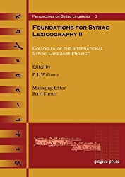 Foundations for Syriac Lexicography II (Perspectives on Syriac Linguistics)