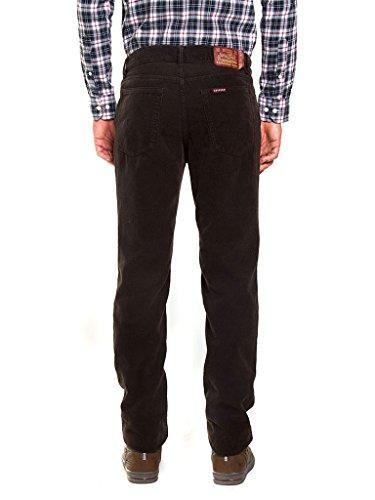 Per Vestibilità Modello Velluto Normale Carrera Unita Pantalone 7001050a Uomo Tinta Regular Dritto Jeans Vita twvCqx6vF